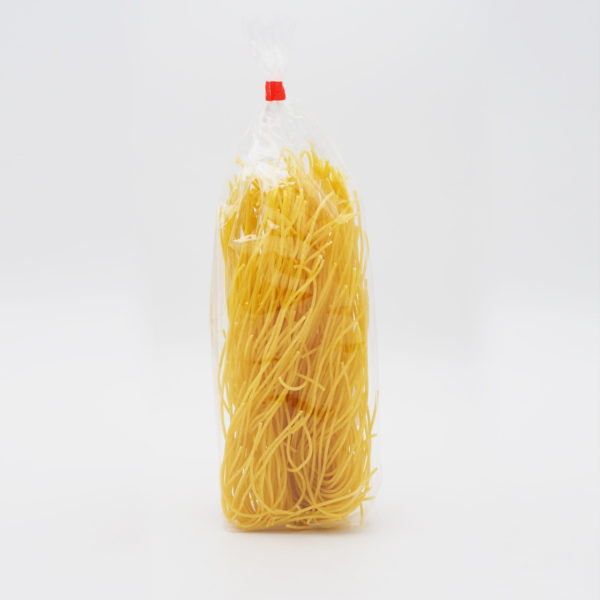 Straussenei Spaghetti