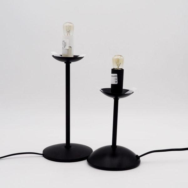Straußenei Lampe Ständergrößen mittel & hoch