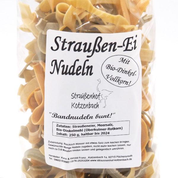 Bandnudeln, Straußenei Nudeln